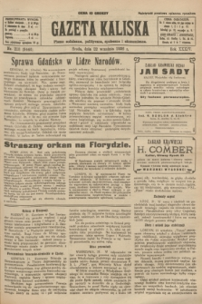 Gazeta Kaliska : pismo codzienne, polityczne, społeczne i ekonomiczne. R.34, nr 218 (22 września 1926) = nr 8446