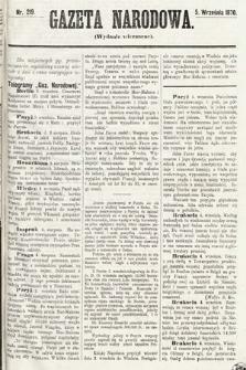 Gazeta Narodowa (wydanie wieczorne). 1870, nr219