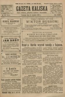 Gazeta Kaliska : pismo codzienne, polityczne, społeczne i ekonomiczne. R.34, nr 222 (26 września 1926) = nr 8450