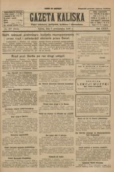 Gazeta Kaliska : pismo codzienne, polityczne, społeczne i ekonomiczne. R.34, nr 227 (2 października 1926) = nr 8455