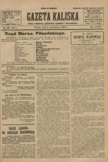 Gazeta Kaliska : pismo codzienne, polityczne, społeczne i ekonomiczne. R.34, nr 229 (5 października 1926) = nr 8457