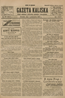 Gazeta Kaliska : pismo codzienne, polityczne, społeczne i ekonomiczne. R.34, nr 231 (7 października 1926) = nr 8459