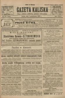 Gazeta Kaliska : pismo codzienne, polityczne, społeczne i ekonomiczne. R.34, nr 233 (9 października 1926) = nr 8461