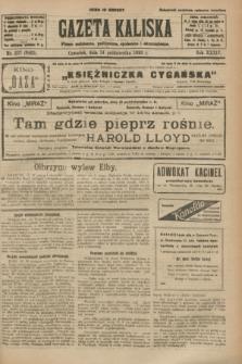 Gazeta Kaliska : pismo codzienne, polityczne, społeczne i ekonomiczne. R.34, nr 237 (14 października 1926) = nr 8465