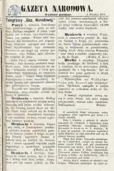 Gazeta Narodowa (wydanie poranne). 1870, nr220