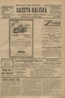 Gazeta Kaliska : pismo codzienne, polityczne, społeczne i ekonomiczne. R.34, nr 240 (17 października 1926) = nr 8468