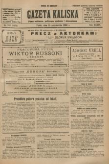 Gazeta Kaliska : pismo codzienne, polityczne, społeczne i ekonomiczne. R.34, nr 250 (29 października 1926) = nr 8478