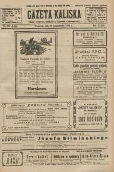 Gazeta Kaliska : pismo codzienne, polityczne, społeczne i ekonomiczne. R.34, nr 252 (31 października 1926) = nr 8480