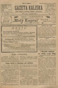 Gazeta Kaliska : pismo codzienne, polityczne, społeczne i ekonomiczne. R.34, nr 253 (3 listopada 1926) = nr 8481