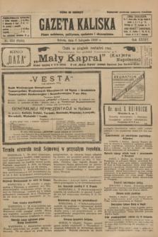 Gazeta Kaliska : pismo codzienne, polityczne, społeczne i ekonomiczne. R.34, nr 256 (6 listopada 1926) = nr 8484