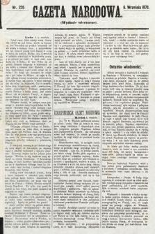 Gazeta Narodowa (wydanie wieczorne). 1870, nr220