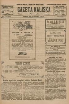 Gazeta Kaliska : pismo codzienne, polityczne, społeczne i ekonomiczne. R.34, nr 275 (28 listopada 1926) = nr 8503