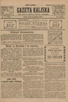 Gazeta Kaliska : pismo codzienne, polityczne, społeczne i ekonomiczne. R.34, nr 276 (30 listopada 1926) = nr 8504