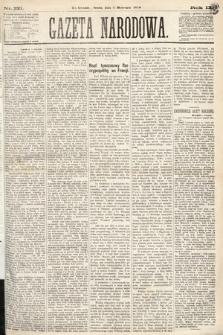 Gazeta Narodowa. 1870, nr221