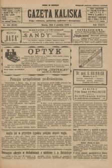 Gazeta Kaliska : pismo codzienne, polityczne, społeczne i ekonomiczne. R.34, nr 280 (4 grudnia 1926) = nr 8508