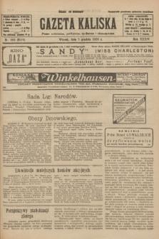 Gazeta Kaliska : pismo codzienne, polityczne, społeczne i ekonomiczne. R.34, nr 282 (7 grudnia 1926) = nr 8510