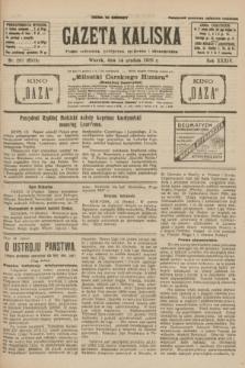 Gazeta Kaliska : pismo codzienne, polityczne, społeczne i ekonomiczne. R.34, nr 287 (14 grudnia 1926) = nr 8515
