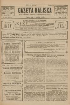 Gazeta Kaliska : pismo codzienne, polityczne, społeczne i ekonomiczne. R.34, nr 290 (17 grudnia 1926) = nr 8518