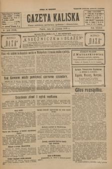 Gazeta Kaliska : pismo codzienne, polityczne, społeczne i ekonomiczne. R.34, nr 296 (24 grudnia 1926) = nr 8524