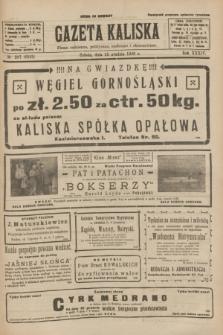 Gazeta Kaliska : pismo codzienne, polityczne, społeczne i ekonomiczne. R.34, nr 297 (25 grudnia 1926) = nr 8525