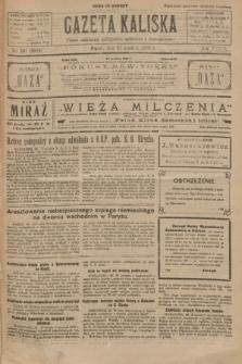 Gazeta Kaliska : pismo codzienne, polityczne, społeczne i ekonomiczne. R.34, nr 301 (31 grudnia 1926) = nr 8529