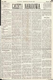 Gazeta Narodowa. 1870, nr228