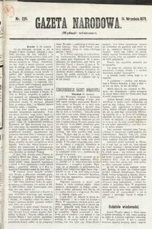 Gazeta Narodowa (wydanie wieczorne). 1870, nr228
