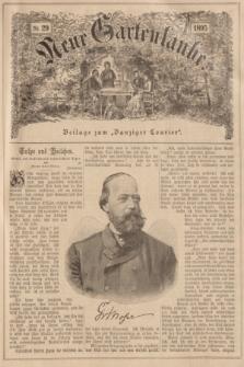 """Neue Gartenlaube : Beilage zum """"Danziger Courier"""". 1895, № 29 ([21 Juli])"""