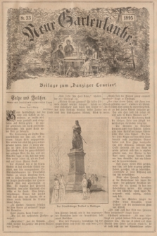 """Neue Gartenlaube : Beilage zum """"Danziger Courier"""". 1895, № 33 ([18 August])"""