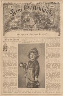 """Neue Gartenlaube : Beilage zum """"Danziger Courier"""". 1895, № 35 ([1 September])"""