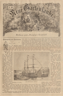 """Neue Gartenlaube : Beilage zum """"Danziger Courier"""". 1895, № 40 ([8 Oktober])"""