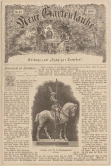 """Neue Gartenlaube : Beilage zum """"Danziger Courier"""". 1895, № 47 ([24 November])"""