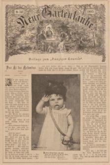"""Neue Gartenlaube : Beilage zum """"Danziger Courier"""". 1895, № 52 ([29 Dezember])"""