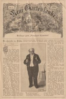 """Neue Gartenlaube : Beilage zum """"Danziger Courier"""". 1896, № 1 ([5 Januar])"""