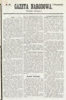 Gazeta Narodowa (wydanie wieczorne). 1870, nr231