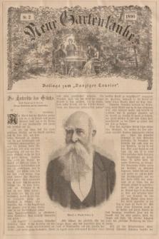 """Neue Gartenlaube : Beilage zum """"Danziger Courier"""". 1896, № 2 ([12 Januar])"""