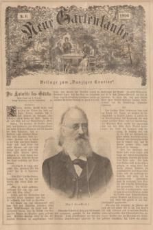 """Neue Gartenlaube : Beilage zum """"Danziger Courier"""". 1896, № 6 ([9 Februar])"""