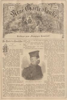 """Neue Gartenlaube : Beilage zum """"Danziger Courier"""". 1896, № 14 ([5 April])"""
