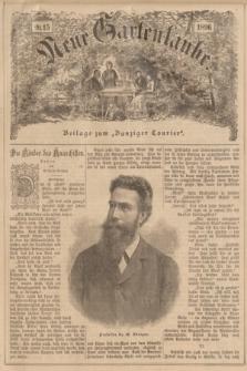 """Neue Gartenlaube : Beilage zum """"Danziger Courier"""". 1896, № 15 ([12 April])"""