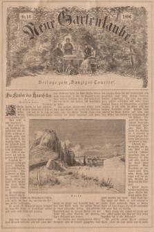 """Neue Gartenlaube : Beilage zum """"Danziger Courier"""". 1896, № 16 ([19 April])"""