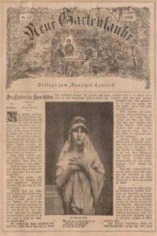 """Neue Gartenlaube : Beilage zum """"Danziger Courier"""". 1896, № 17 ([26 April])"""
