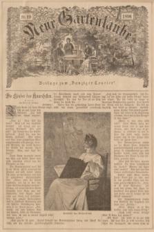 """Neue Gartenlaube : Beilage zum """"Danziger Courier"""". 1896, № 19 ([10 Mai])"""