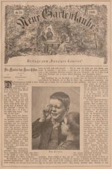"""Neue Gartenlaube : Beilage zum """"Danziger Courier"""". 1896, № 20 ([17 Mai])"""