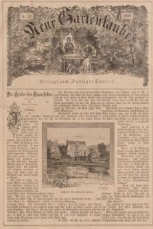 """Neue Gartenlaube : Beilage zum """"Danziger Courier"""". 1896, № 21 ([24 Mai])"""