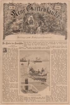 """Neue Gartenlaube : Beilage zum """"Danziger Courier"""". 1896, № 22 ([31 Mai])"""