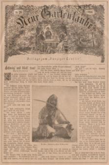 """Neue Gartenlaube : Beilage zum """"Danziger Courier"""". 1896, № 26 ([28 Juni])"""
