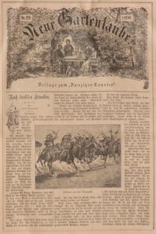 """Neue Gartenlaube : Beilage zum """"Danziger Courier"""". 1896, № 29 ([19 Juli])"""
