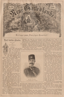 """Neue Gartenlaube : Beilage zum """"Danziger Courier"""". 1896, № 30 ([26 Juli])"""