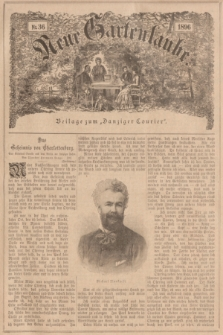 """Neue Gartenlaube : Beilage zum """"Danziger Courier"""". 1896, № 36 ([6 September])"""