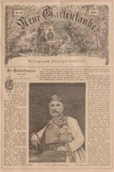 """Neue Gartenlaube : Beilage zum """"Danziger Courier"""". 1896, № 40 ([4 Oktober])"""